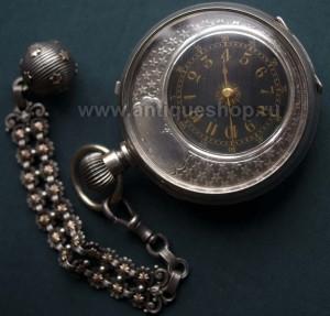 Старинные и антикварные часы Антикварная подставка для карманных часов.  Подчасник бронзовый. Созидающий. Антикварный 57ccce389d8