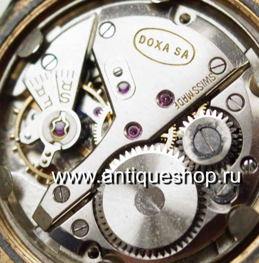 d8ddd9e0f2ee Позолоченные мужские наручные часы DOXA. Швейцария, 40-е -50-е годы. Антикварный  интернет магазин