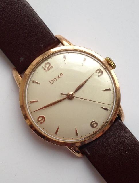 37928b34887a Старинные и антикварные часы Doxa. Золотые классические мужские ...